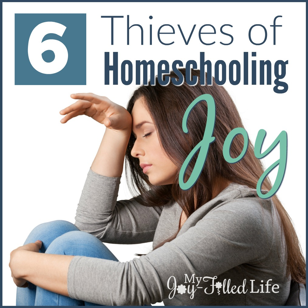 6 Thieves of Homeschooling Joy